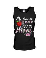 Teacher calls me Mom Unisex Tank thumbnail