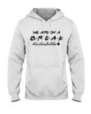 Friends Teacher Summer Shirt Hooded Sweatshirt thumbnail