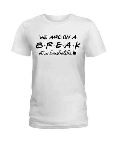 Friends Teacher Summer Shirt