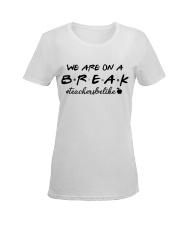 Friends Teacher Summer Shirt Ladies T-Shirt women-premium-crewneck-shirt-front