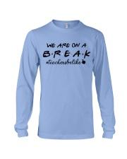 Friends Teacher Summer Shirt Long Sleeve Tee thumbnail