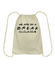 Friends Teacher Summer Shirt Drawstring Bag thumbnail