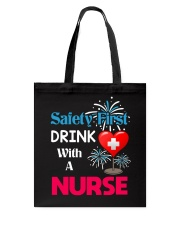 Nurse Dabbing Tote Bag tile