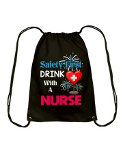 Nurse Dabbing Drawstring Bag thumbnail