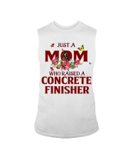 Just a Mom who raised a Concrete finisher Sleeveless Tee thumbnail
