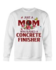 Just a Mom who raised a Concrete finisher Crewneck Sweatshirt thumbnail
