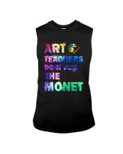 ART TEACHERS DO IT FOR THE MONET Sleeveless Tee thumbnail