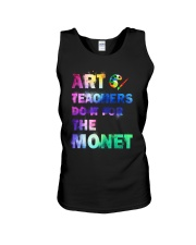 ART TEACHERS DO IT FOR THE MONET Unisex Tank thumbnail