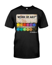 Work of art Classic T-Shirt front
