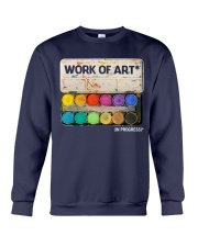 Work of art Crewneck Sweatshirt tile