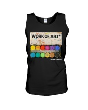 Work of art Unisex Tank thumbnail