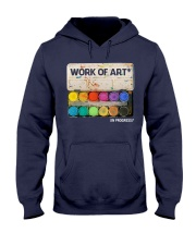 Work of art Hooded Sweatshirt thumbnail