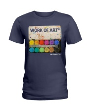 Work of art Ladies T-Shirt tile