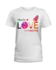 Teach Love Inspire Ladies T-Shirt front