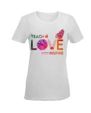 Teach Love Inspire Ladies T-Shirt women-premium-crewneck-shirt-front