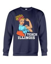 I TEACH ILLINOIS Crewneck Sweatshirt thumbnail
