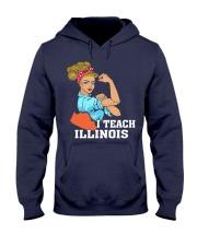 I TEACH ILLINOIS Hooded Sweatshirt thumbnail