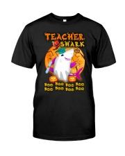 TEACHER SHARK BOO BOO BOO Classic T-Shirt front