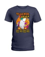 TEACHER SHARK BOO BOO BOO Ladies T-Shirt thumbnail