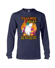 TEACHER SHARK BOO BOO BOO Long Sleeve Tee thumbnail
