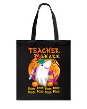 TEACHER SHARK BOO BOO BOO Tote Bag thumbnail