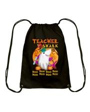 TEACHER SHARK BOO BOO BOO Drawstring Bag thumbnail