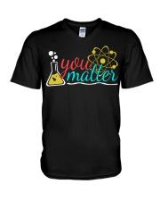 YOU MATTER V-Neck T-Shirt thumbnail