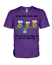 Every Student can learn V-Neck T-Shirt thumbnail
