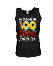 MY STUDENTS ARE 100 DAYS SMARTER Unisex Tank thumbnail