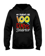 MY STUDENTS ARE 100 DAYS SMARTER Hooded Sweatshirt thumbnail