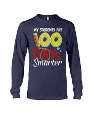 MY STUDENTS ARE 100 DAYS SMARTER Long Sleeve Tee thumbnail