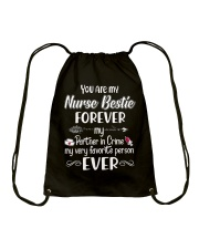 You are my Nurse Bestie Drawstring Bag thumbnail