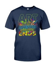 Art is an adventure that never ends Classic T-Shirt tile