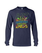 Art is an adventure that never ends Long Sleeve Tee thumbnail