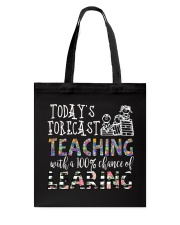 Today's forecast Teaching Tote Bag thumbnail