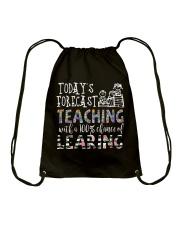 Today's forecast Teaching Drawstring Bag thumbnail