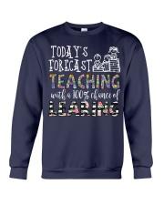 Today's forecast Teaching Crewneck Sweatshirt thumbnail