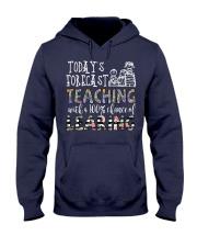 Today's forecast Teaching Hooded Sweatshirt thumbnail