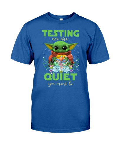 Testing we are QUIET you must be