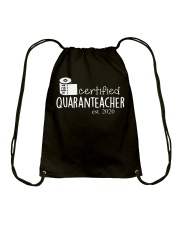 Quaranteacher est 2020 Drawstring Bag thumbnail