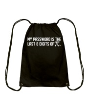 My Password is the last 8 digits of pi Drawstring Bag thumbnail