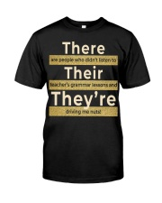 Teacher's grammar lessons Classic T-Shirt thumbnail