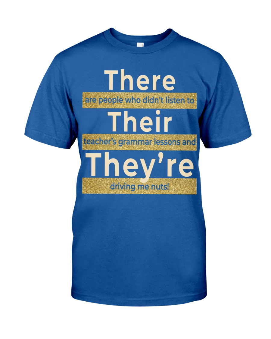 Teacher's grammar lessons Classic T-Shirt