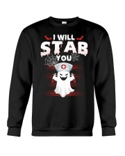 I Will Stab You Crewneck Sweatshirt thumbnail