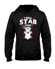 I Will Stab You Hooded Sweatshirt thumbnail