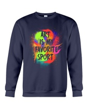 Art is my Favorite Sport Crewneck Sweatshirt thumbnail