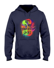 Art is my Favorite Sport Hooded Sweatshirt thumbnail