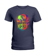 Art is my Favorite Sport Ladies T-Shirt thumbnail