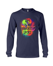 Art is my Favorite Sport Long Sleeve Tee thumbnail