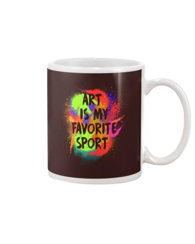 Art is my Favorite Sport